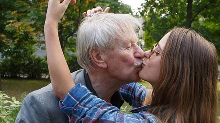 Дед с подругой