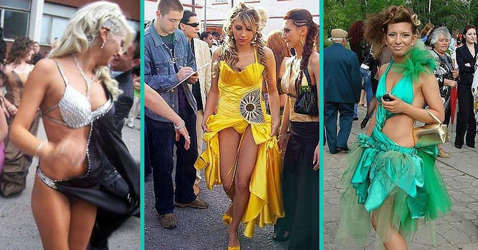 Скандальные Платья Выпускниц Фото