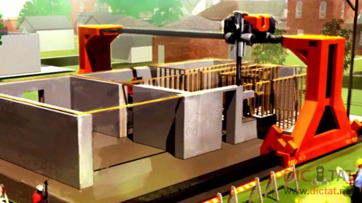 3d принтеры в строительстве