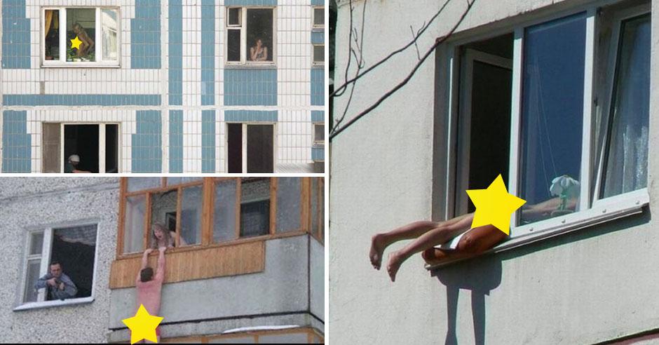 быть ближе я разделась перед окном парни проникают