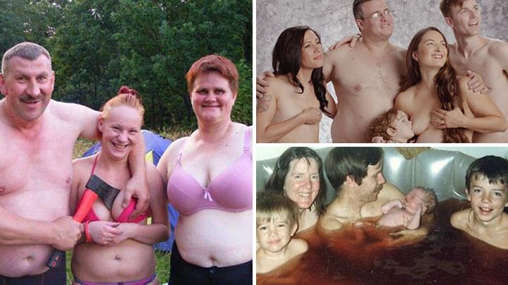 частные фото семейные