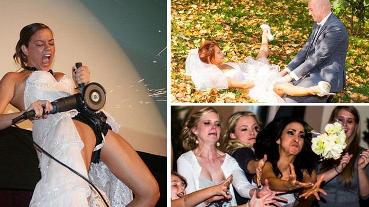 поклонники невеста опозорилась фото особого