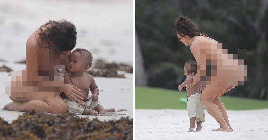А мужчины возбуждаются от женщин на нудистском пляже?