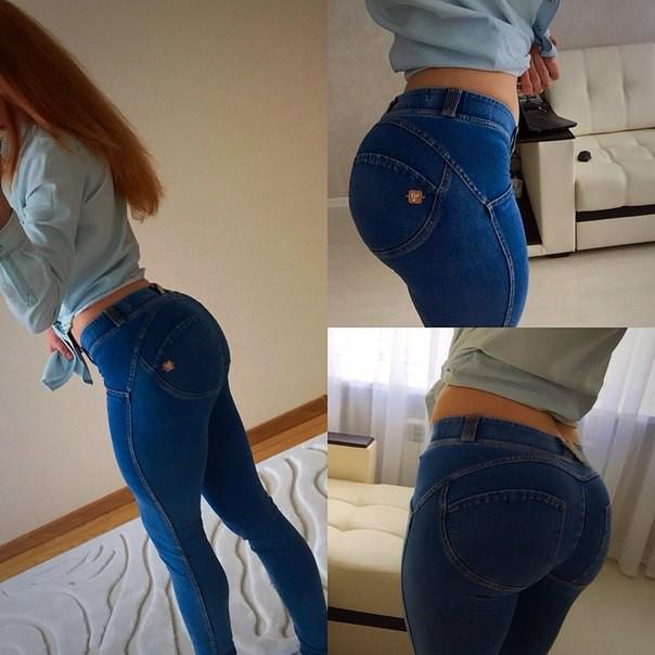 Девушка в джинсах видео