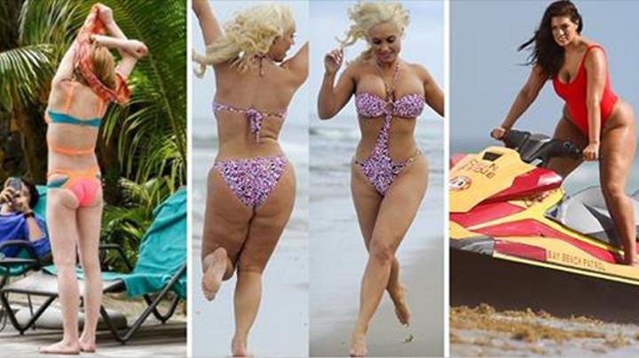 Увидела на пляже сексуальное тело