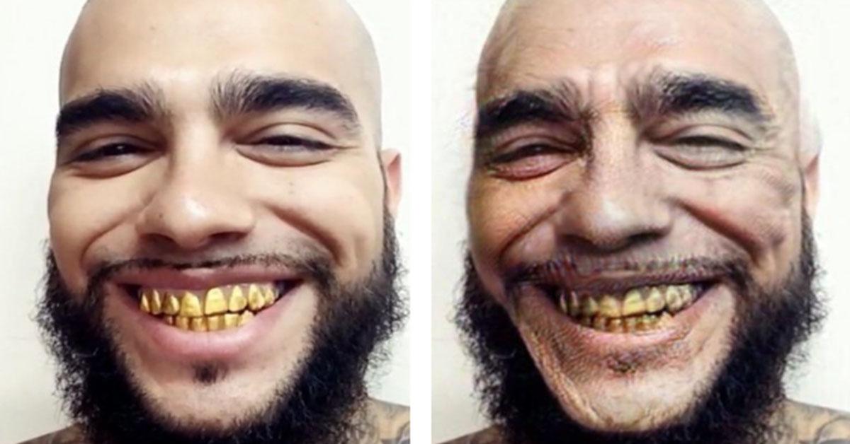у тимати золотые зубы фото тем